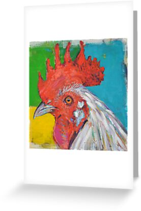 'Indomitable Chicken'  by Cat Leonard