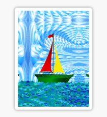 Happy Sailing Sticker