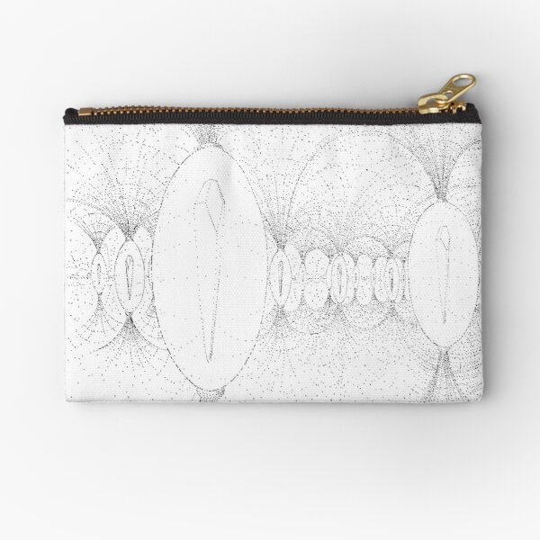 my body was like a crystal and there were others like me. Zipper Pouch