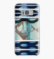 Metal Blue Samsung Galaxy Case/Skin