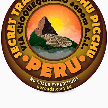 Machu Picchu Classic T by noroads