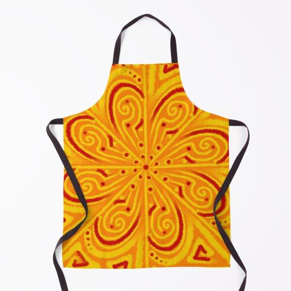 Ethnic Batik Style Design Apron