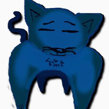 Blue Cat  by KcLee677