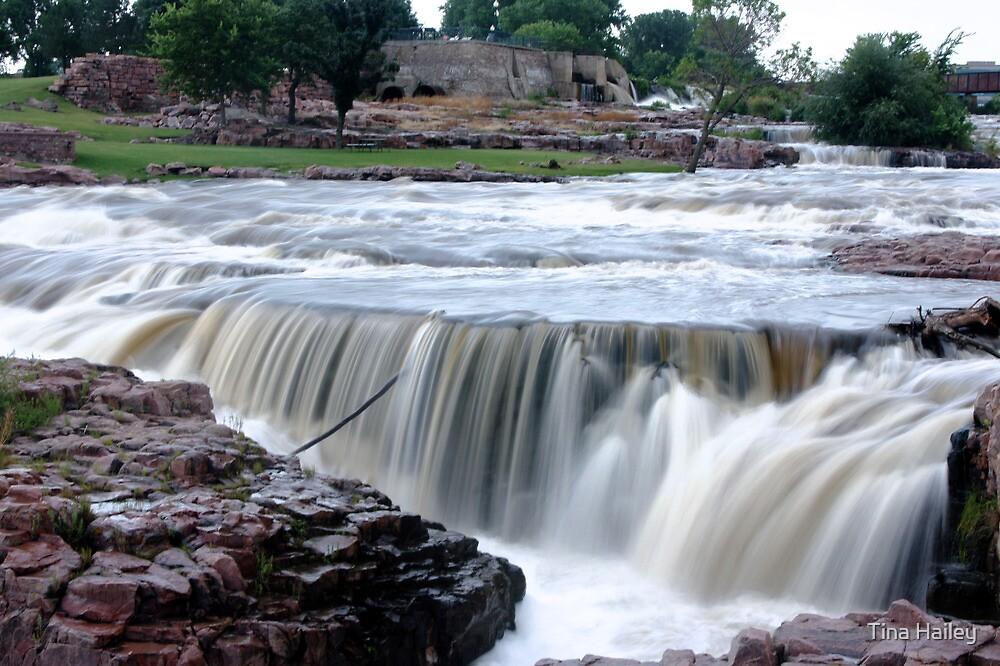 Raging Waterfalls  by Tina Hailey