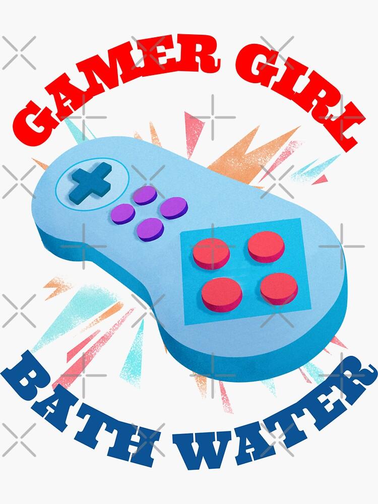 Belle Delphine Gamer Girl Bath Water Sticker by dpkndls