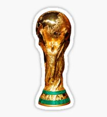 World Cup Trophy Soccer Football Sticker Sticker