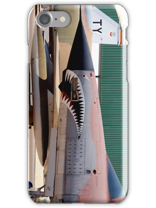 F-105 Thunder Chief iPhone Case by CKAStudios