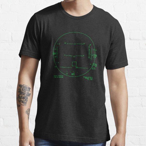 F-15 Missile Lock Head Up Display Essential T-Shirt