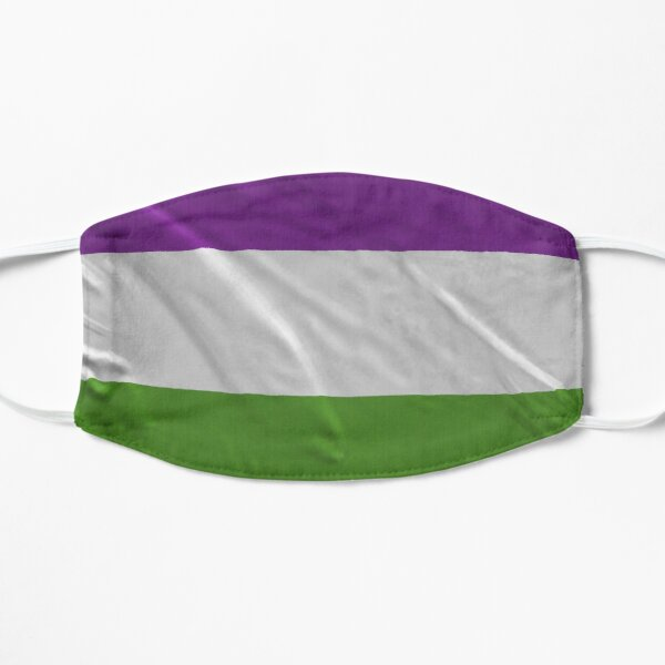 SUFFRAGETTE FLAG Mask