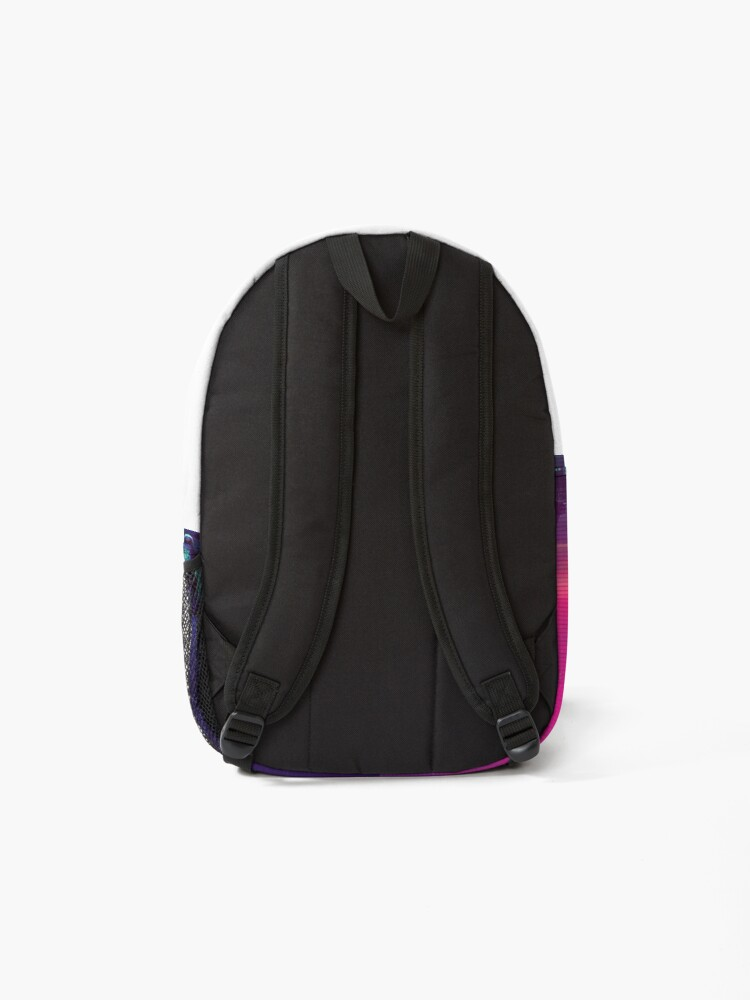 Alternate view of Synthwave Midnight Outrun Backpack