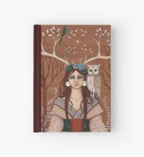 Wood Witch Hardcover Journal