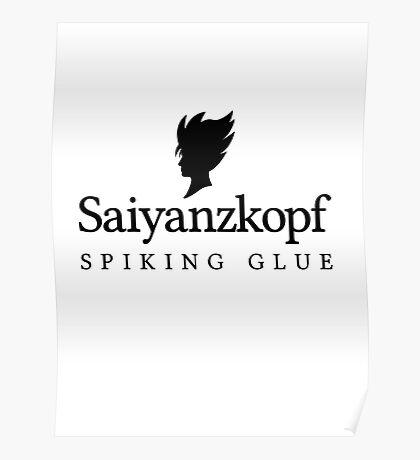 Super Saiyan Hair Gel Poster