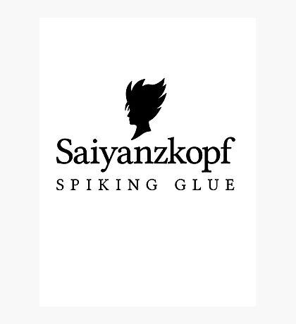 Super Saiyan Hair Gel Photographic Print