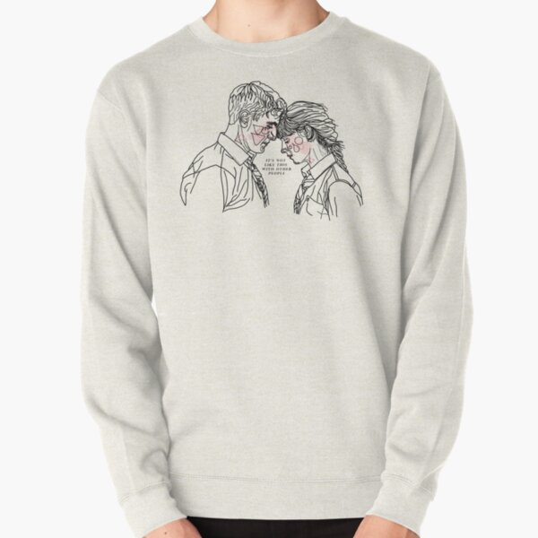 Normal People ; Connell & Marianne (with colour) Pullover Sweatshirt