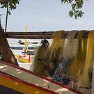 Fishing Nets, Sanur Beach, Bali by Vince Russell