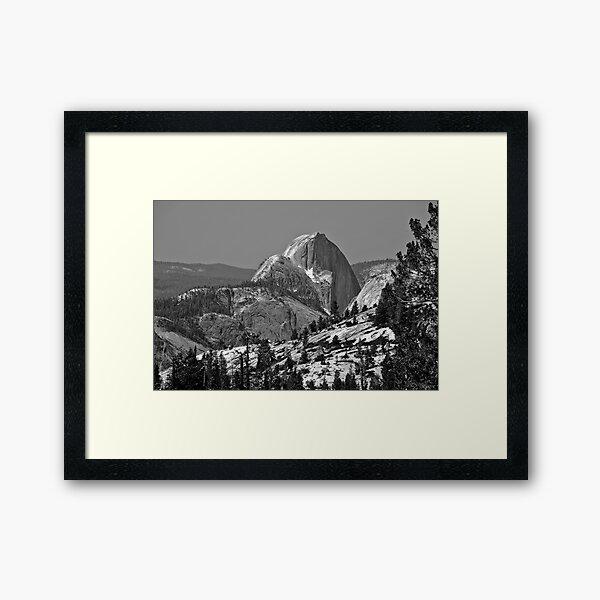 Half Dome in Spring Framed Art Print