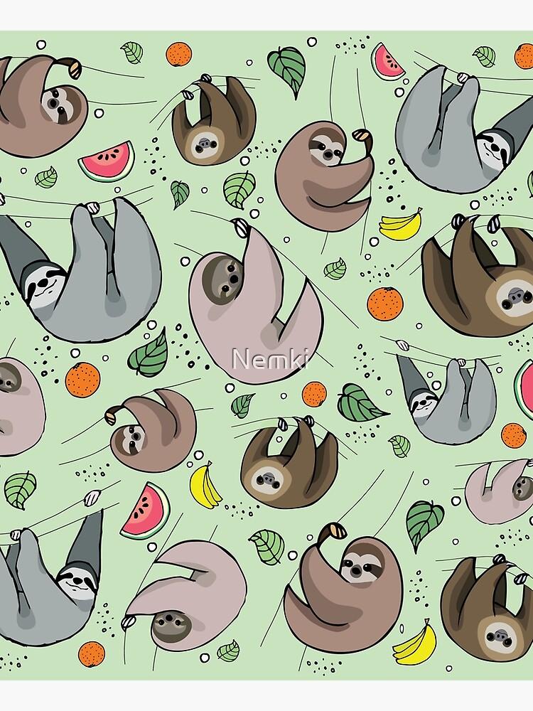 Sloths by Nemki