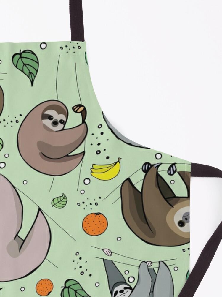 Alternate view of Sloths Apron