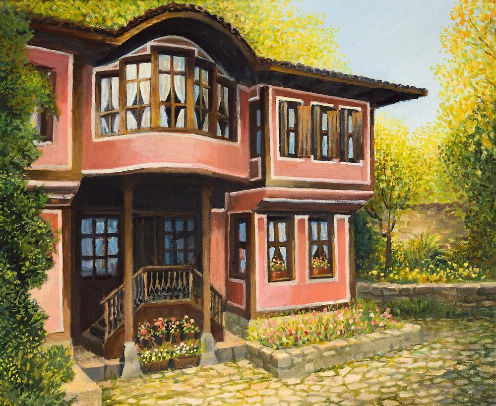 Old House in Koprivshtica by kirilart