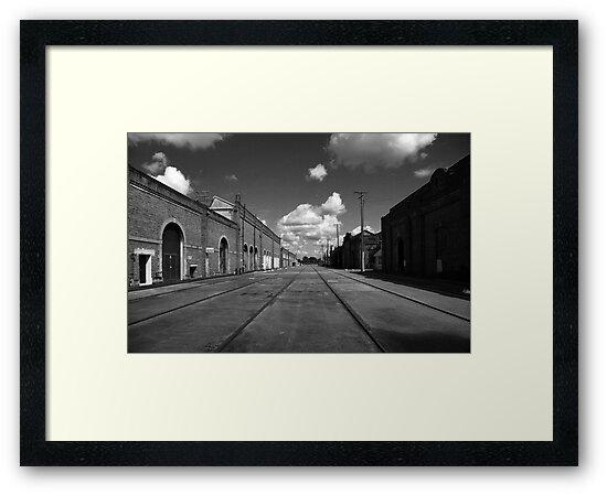 Ipswich Railway Workshops Queensland by Noel Elliot