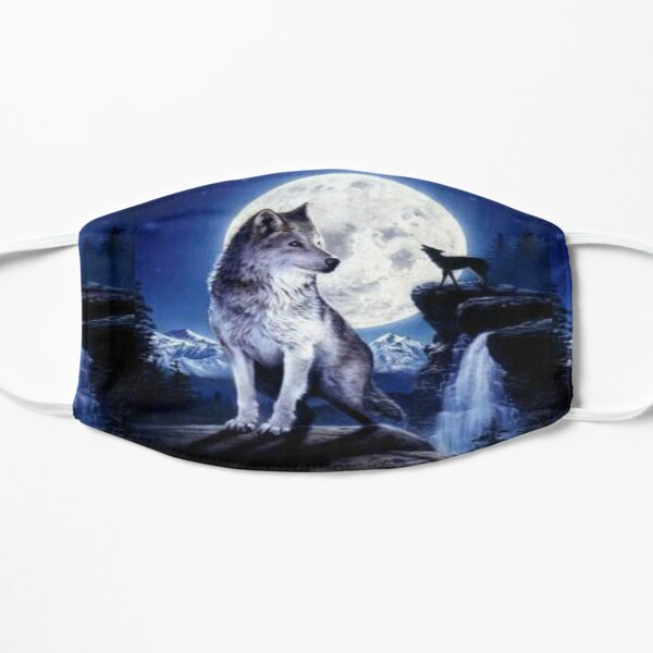 Wolf Lovers Wildlife Graphics Art Mask