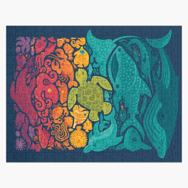 Aquatic Spectrum Jigsaw Puzzle