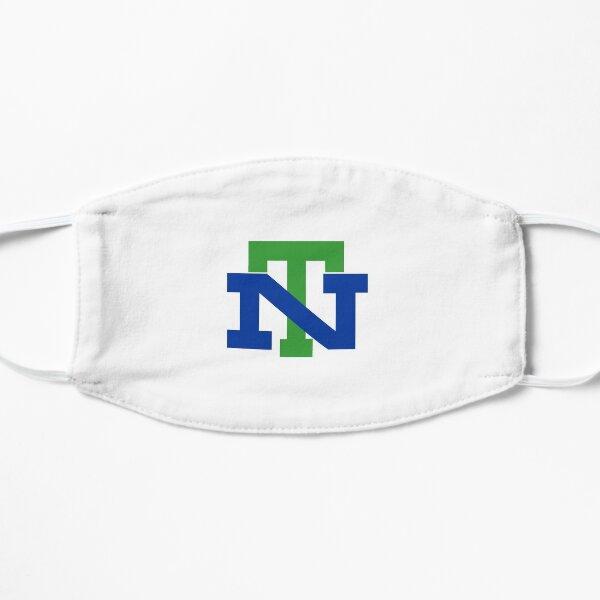 Blue and Green NT New Trier High School Trevians Logo Design Flat Mask