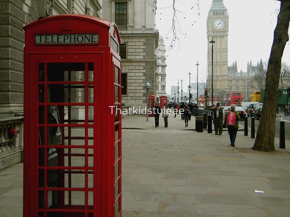 Telephone Box by Thatkidstuieee