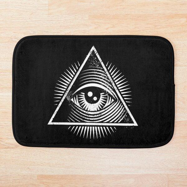 All Seeing Eye Bath Mat