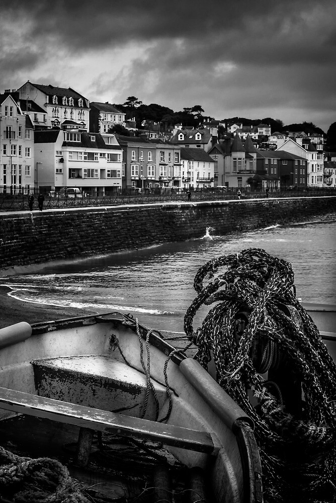 Town Beside The Sea by Michael Carter