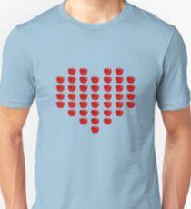 Camiseta ajustada I Love Apples