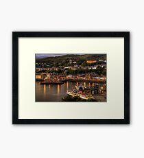 Oban Promenade Framed Print