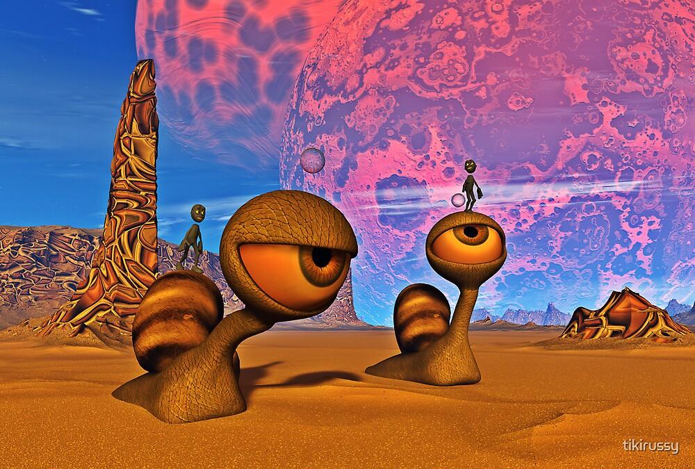Snail Riders by tikirussy
