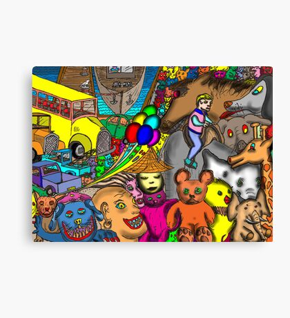 Circus Rejects Canvas Print