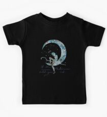 when the moon told you so Kids Tee