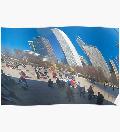 Bean  Reflections Poster