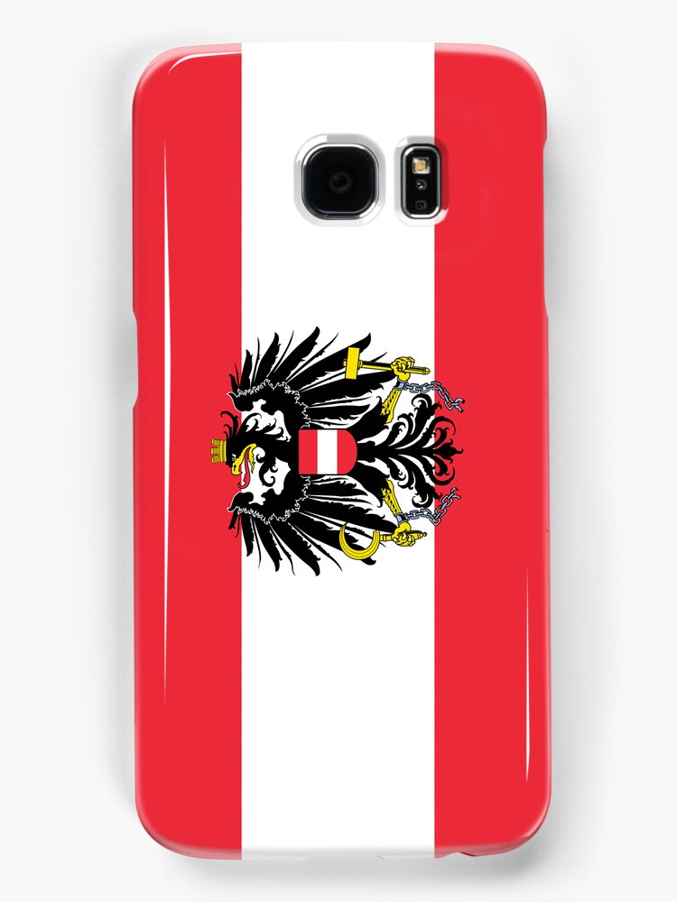 Smartphone Case - Flag of Austria (State) horizontal  by Mark Podger