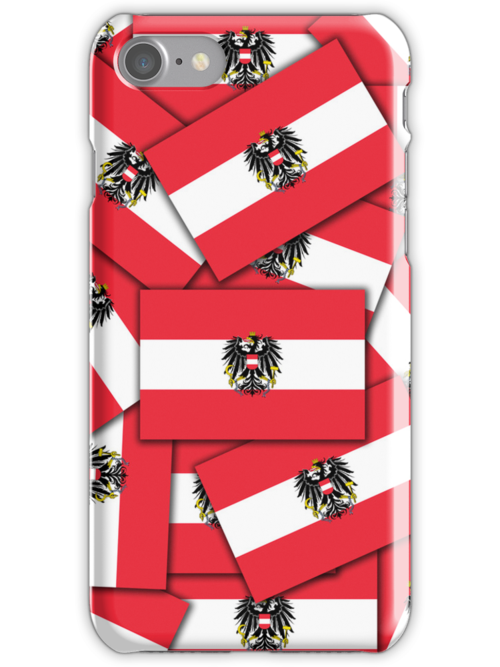 Smartphone Case - Flag of Austria (State) - Multiple by Mark Podger