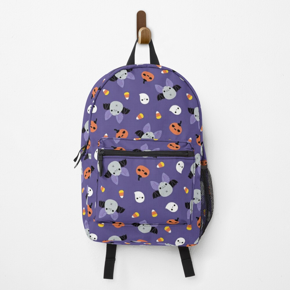 Halloween Bat Pattern  Backpack