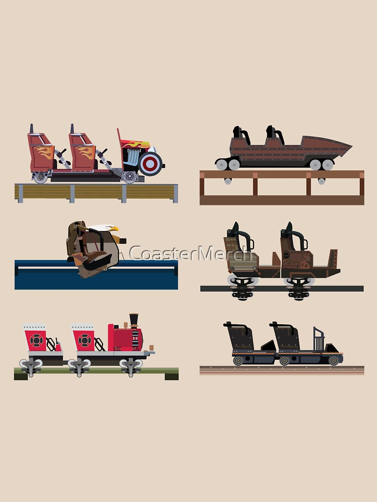 Dollywood Coaster Car Design by CoasterMerch
