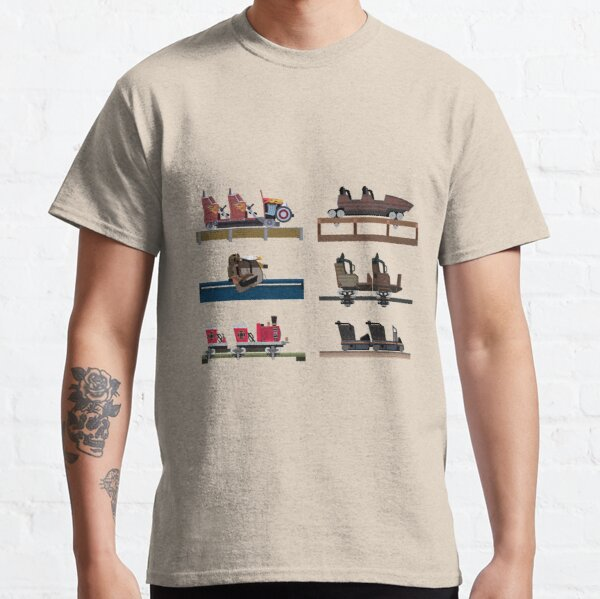 Dollywood Coaster Car Design Classic T-Shirt