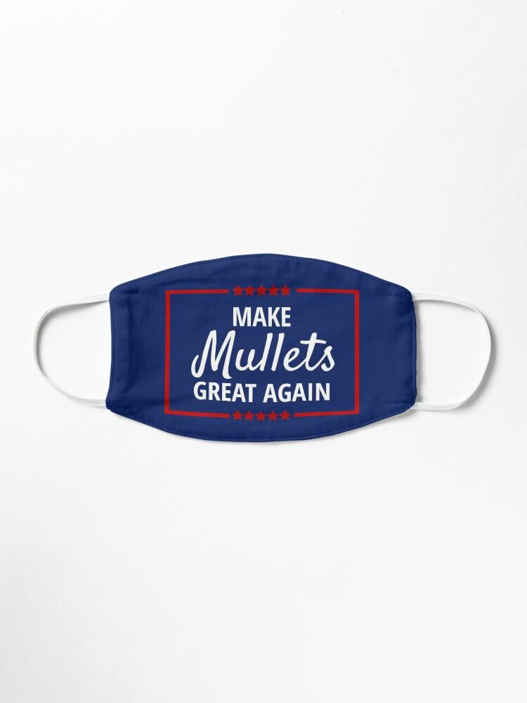 Morgan Wallen Make Mullet Great Mask By Goldenstudio Redbubble