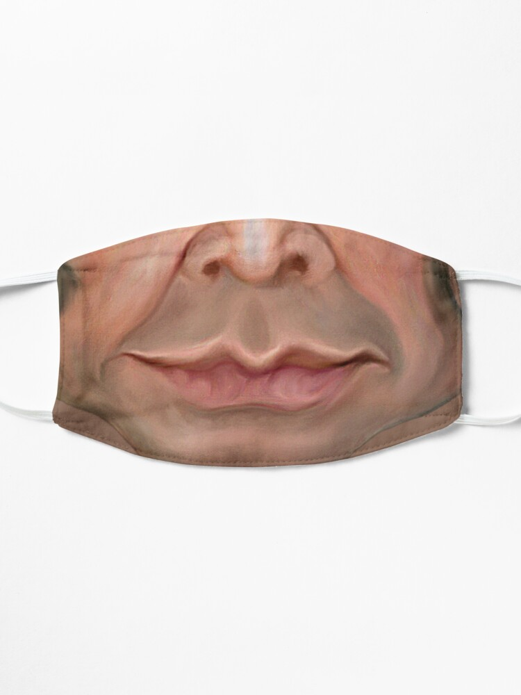 Alternate view of Crazy Face Mask
