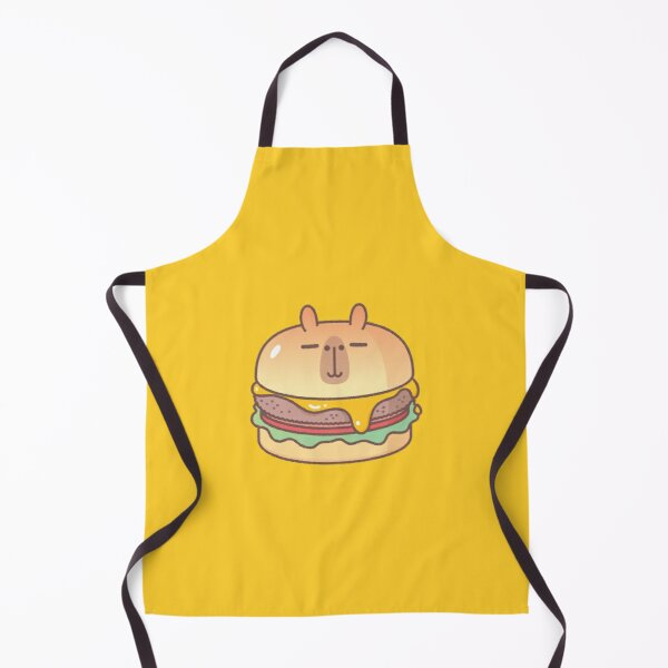 Bubu and Moonch, Moonch Burger  Apron