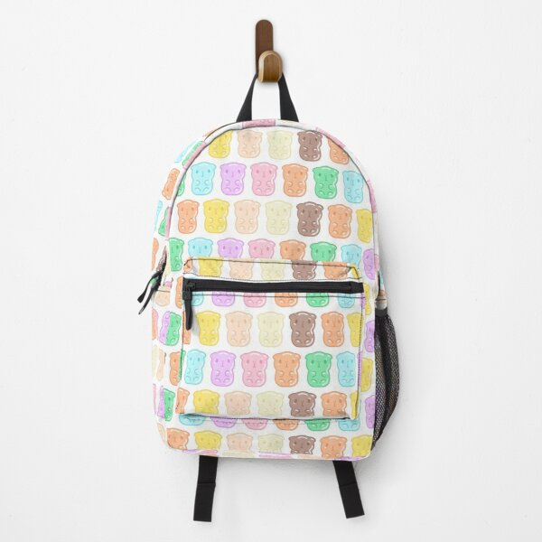 Rainbow Gummy Candy Guinea Pigs Pattern  Backpack
