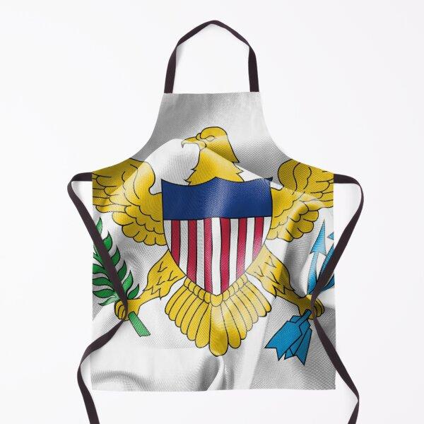 United States Virgin Islands Flag Apron