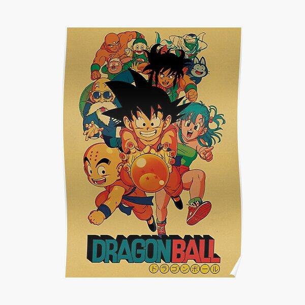 The Crew- Dragon Ball Poster