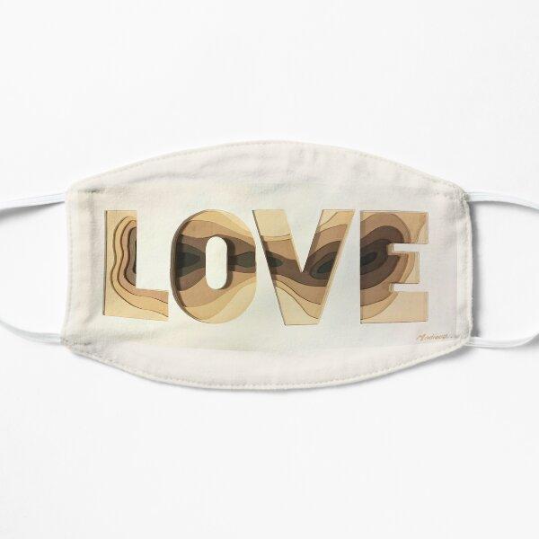 LOVE Flat Mask