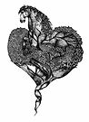 Horse Heart by samclaire