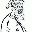 Ugly Santa 1 by Tristan Klein